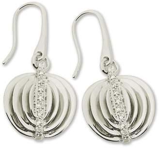 Alvina Alivna Women's Cubic Zirconia and Sterling Silver Hook Earrings