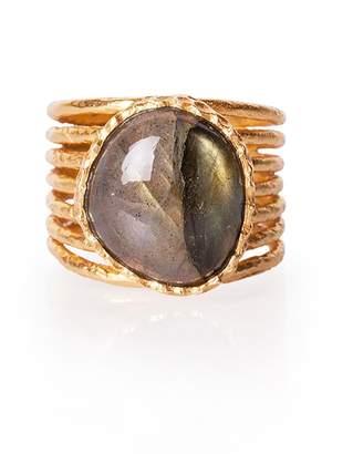 Christina Greene - Stackable Ring in Labradorite
