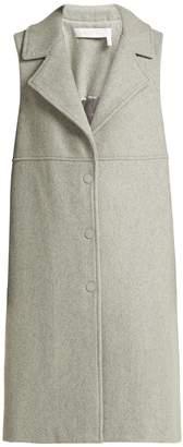 See by Chloe City wool-blend sleeveless coat