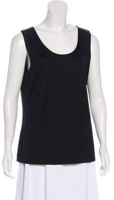 Akris Punto Sleeveless Scoop Neck Tank