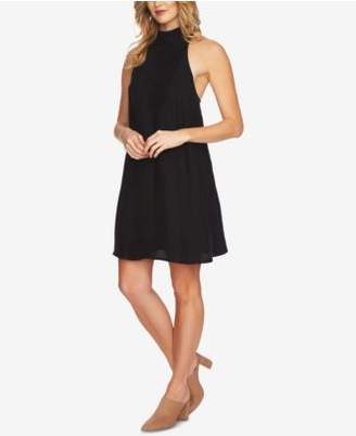 1 STATE 1.STATE Mock-Neck Shift Dress