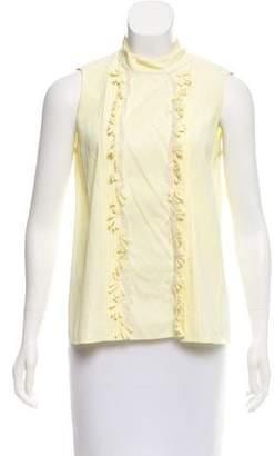 Chloé Sleeveless Button-Up Top
