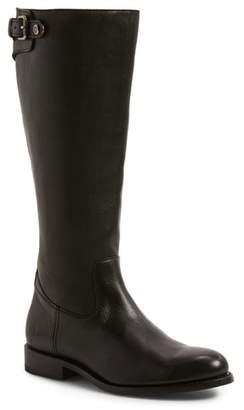 Frye Jayden Buckle Back Zip Boot
