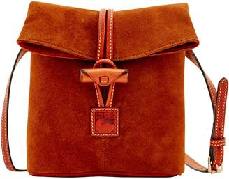 Dooney & Bourke Suede Toggle Crossbody