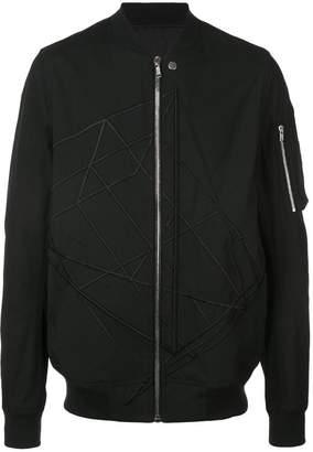 Rick Owens sleeve pocket bomber jacket