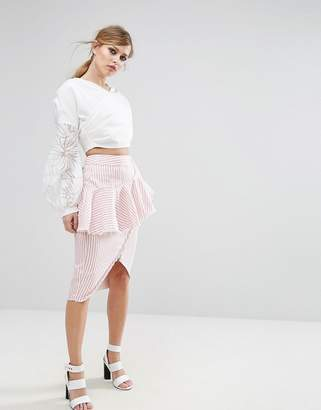 Asilio Rough Lines Skirt
