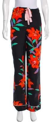 Diane von Furstenberg Wide-Leg Pajama Pants w/ Tags