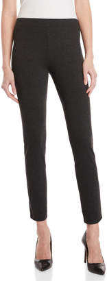 Donna Karan Dark Grey Pull-On Leggings