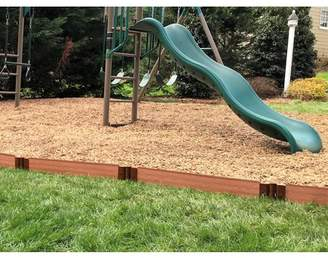 "Frame It All Classic Sienna Straight Playground Border 16 1"" profile"