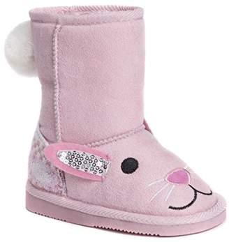 Muk Luks Girls Kid's Bonnie Bunny Boots Fashion