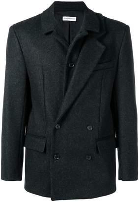 Gosha Rubchinskiy asymmetric lapel boxy blazer