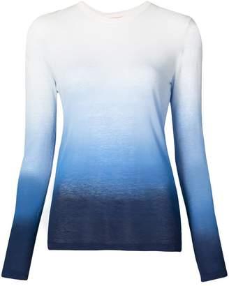 Michael Kors ombre long sleeve T-shirt