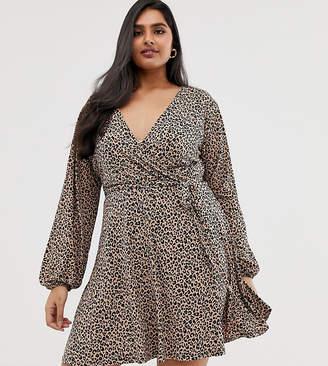 b274fa05b413 Plus Size Leopard Print Dress - ShopStyle Australia