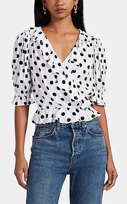 Icons Objects of Devotion Women's The Cha Cha Polka Dot Blouse
