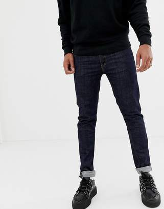 Love Moschino Skinny Jeans In Blue