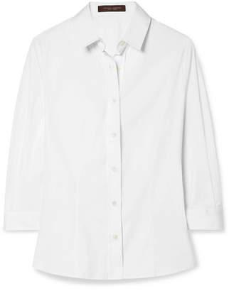 Carolina Herrera Cotton-poplin Shirt - White
