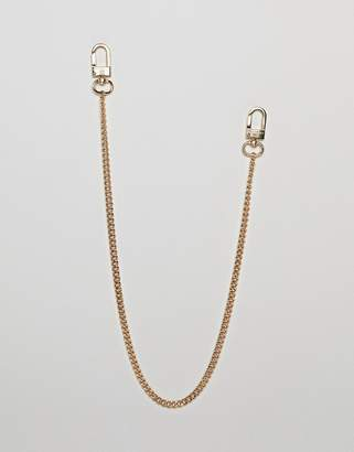 Chained & Able skinny jean chain in gold