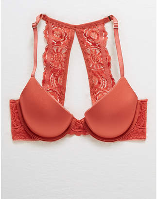 aerie Day to Play Plunge Pushup Bra