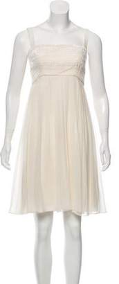 Marchesa Silk Sleeveless Dress