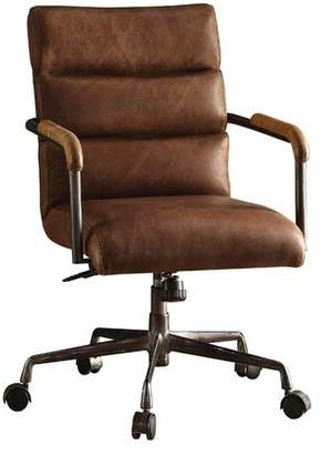 17 Stories Viggo High-Back Leather Executive Chair