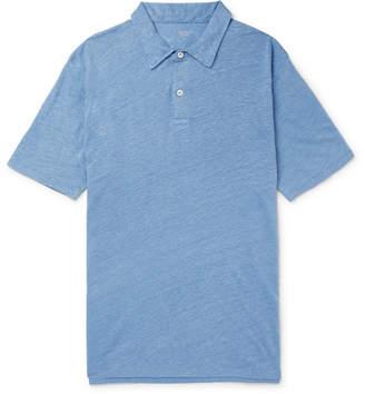 Hartford Slub Linen Polo Shirt