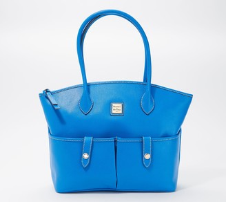 Dooney & Bourke Saffiano Leather Crescent Tote