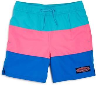 Vineyard Vines Boys' Color-Block Swim Trunks