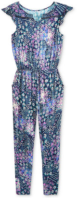 Jessica Simpson Embroidered Denim Jumpsuit, Big Girls (7-16) $54.50 thestylecure.com