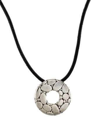John Hardy Kali Disc Pendant Necklace