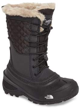 The North Face Shellista Lace III Faux Fur Waterproof Boot