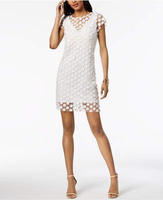Nanette Lepore (ナネット レポー) - Nanette by Nanette Lepore Sheer Applique Sheath Dress