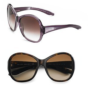 Prada Oversized Round Sunglasses