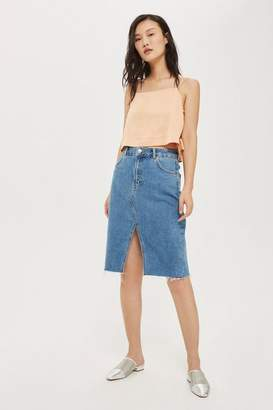 Topshop Tall Tie Side Crop Camisole Top