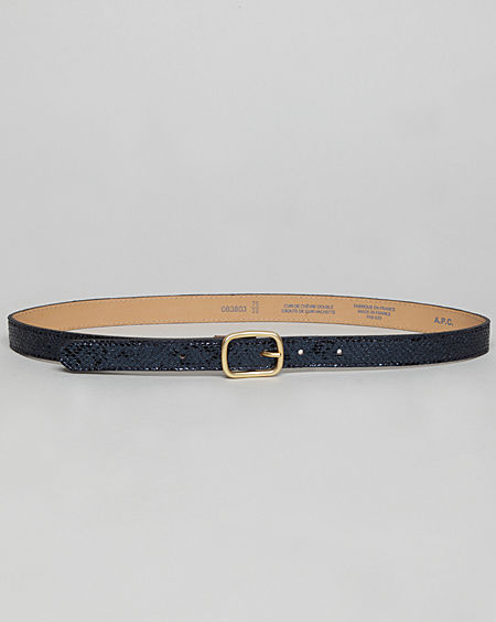 A.P.C. / Narrow Metallic Belt