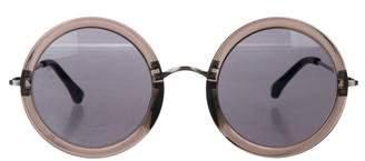 Linda Farrow The Row x Tinted Round Sunglasses