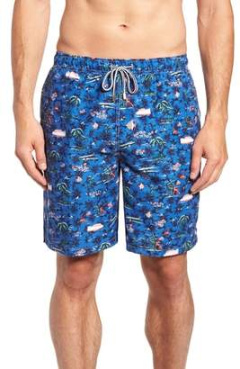 Peter Millar Hawaiian Express Swim Trunks