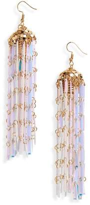 BP Iridescent Chandelier Drop Earrings