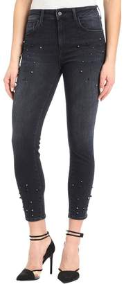 Mavi Jeans Pearl Embellished Denim