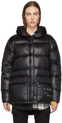 Alexander Wang Black Credit Card Down Jacket