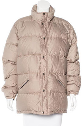 The North Face Zip-Up Puffer Jacket $85 thestylecure.com