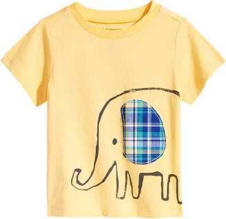 First Impressions Elephant-Print Cotton T-Shirt, Baby Boys, Created for Macy's