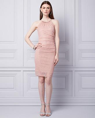 Le Château Lace Halter Dress