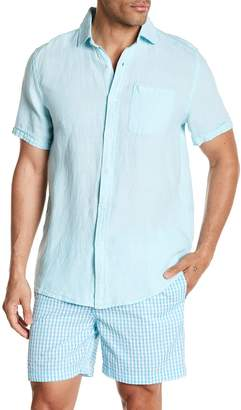 Trunks Surf and Swim CO. Aloha Short Sleeve Relaxed Fit Linen Shirt