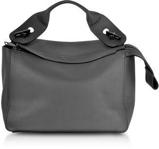 Sophie Hulme Charcoal Bolt Shoulder Bag