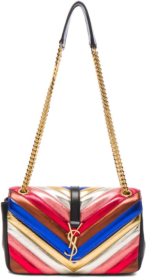 Saint LaurentSaint Laurent Slouchy Medium Monogramme Chain Bag