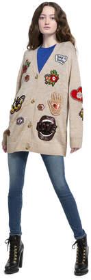 Alice + Olivia Bradford Embellished Cardigan