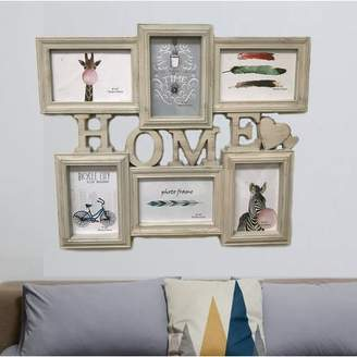Winston Porter Burnam 6 Piece Home Picture Frame Set