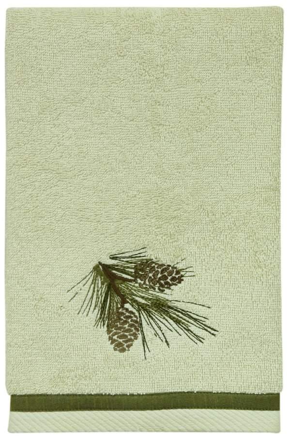 Pinecone Silhouette Hand Towel