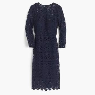J.Crew Collection lace sheath dress