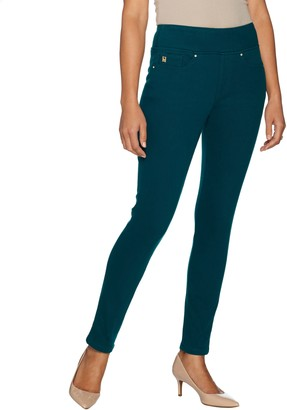 Belle By Kim Gravel Belle by Kim Gravel Flexibelle Petite Pull-On Knit Jeggings